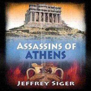 Assassins of Athens audiobook cover art