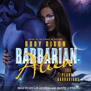 Barbarian Alien audiobook cover art
