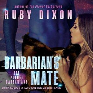 Barbarian's Mate: A SciFi Alien Romance audiobook cover art