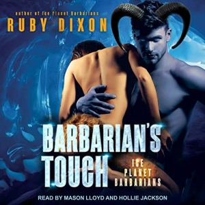 Barbarian's Touch audiobook cover art