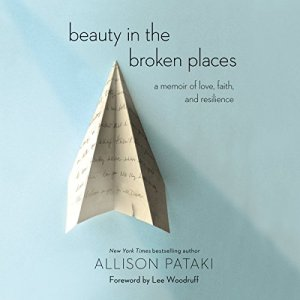 Beauty in the Broken Places audiobook cover art
