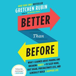 Better Than Before audiobook cover art