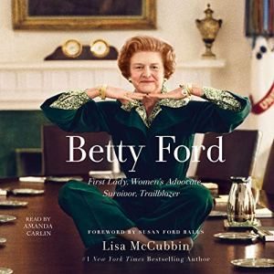 Betty Ford audiobook cover art
