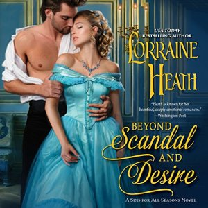 Beyond Scandal and Desire audiobook cover art