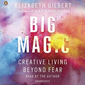 Big Magic audiobook cover art