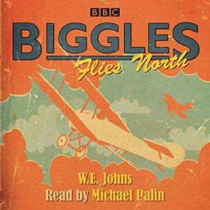 Biggles Flies North audiobook cover art
