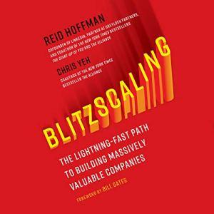 Blitzscaling audiobook cover art