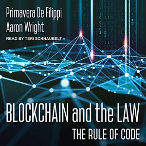 Blockchain and the Law audiobook cover art