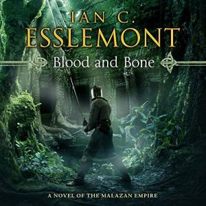 Blood and Bone audiobook cover art