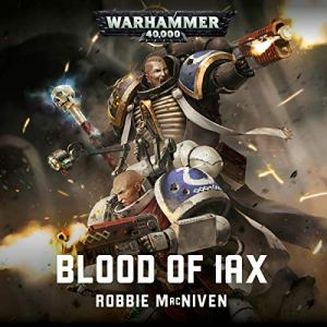 Blood of Iax audiobook cover art