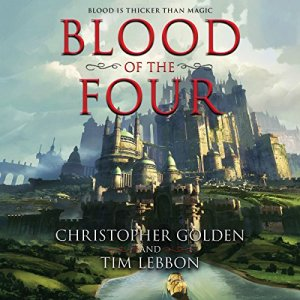 Blood of the Four audiobook cover art