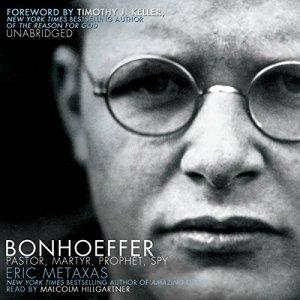 Bonhoeffer audiobook cover art