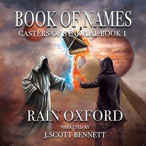 Book of Names audiobook cover art