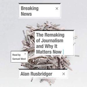 Breaking News audiobook cover art