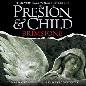 Brimstone audiobook cover art