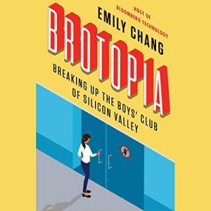 Brotopia audiobook cover art