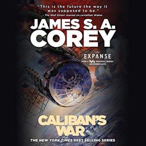 Caliban's War audiobook cover art