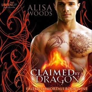 Claimed by a Dragon audiobook cover art