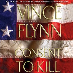 Consent to Kill audiobook cover art