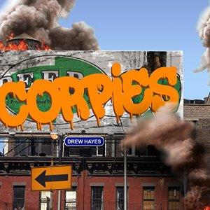 Corpies audiobook cover art
