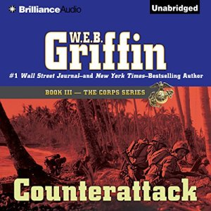 Counterattack audiobook cover art