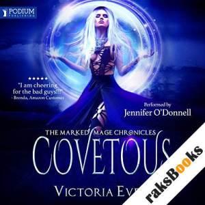 Covetous audiobook cover art