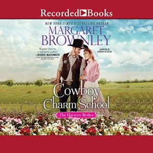 Cowboy Charm School audiobook cover art