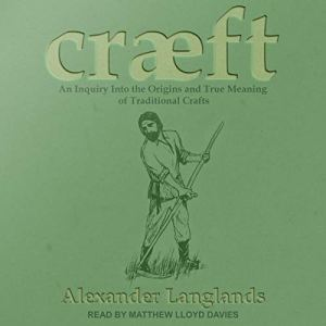 Cræft audiobook cover art