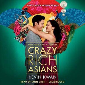 Crazy Rich Asians audiobook cover art