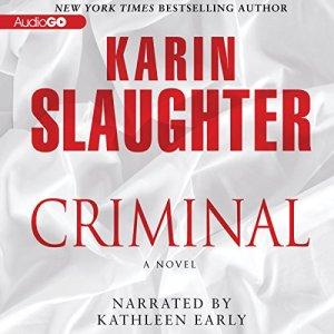 Criminal audiobook cover art