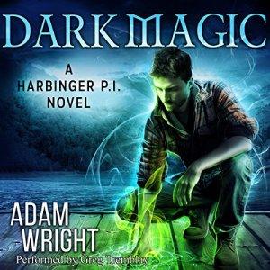 Dark Magic audiobook cover art