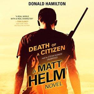 Death of a Citizen audiobook cover art
