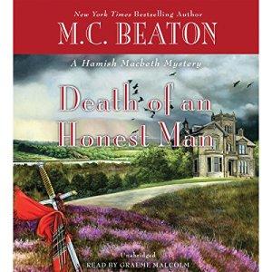 Death of an Honest Man audiobook cover art
