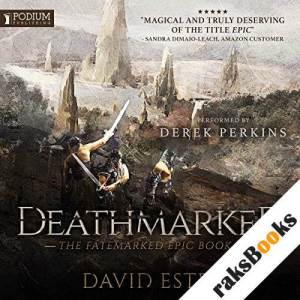 Deathmarked audiobook cover art