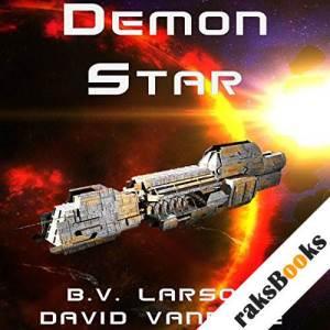 Demon Star audiobook cover art