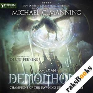 Demonhome audiobook cover art