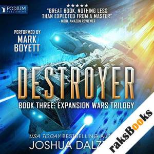 Destroyer audiobook cover art