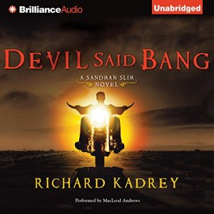 Devil Said Bang audiobook cover art