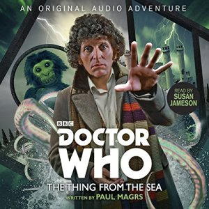Doctor Who: The Thing from the Sea audiobook cover art