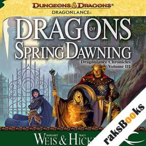 Dragons of Spring Dawning audiobook cover art