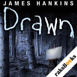 Drawn audiobook cover art