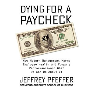 Dying for a Paycheck audiobook cover art