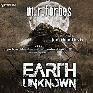 Earth Unknown audiobook cover art