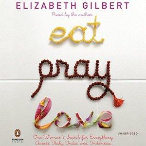 Eat, Pray, Love audiobook cover art