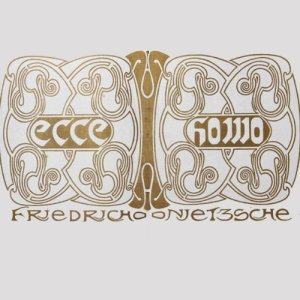 Ecce Homo audiobook cover art