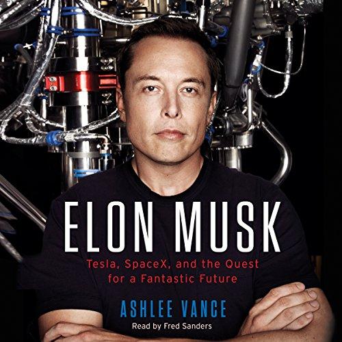 Elon Musk audiobook cover art