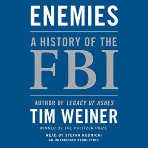 Enemies: A History of the FBI audiobook cover art