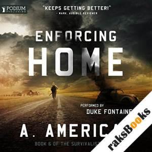 Enforcing Home audiobook cover art