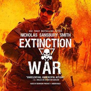 Extinction War audiobook cover art