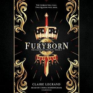 Furyborn audiobook cover art